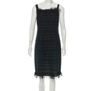 Akris Punto Lace Floral Dress
